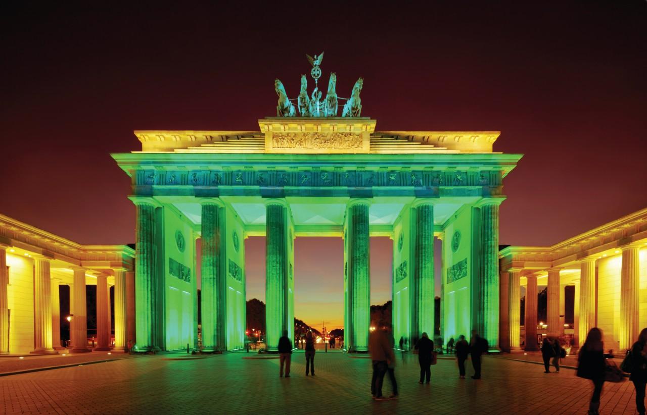 Porte de Brandebourg, Berlin.