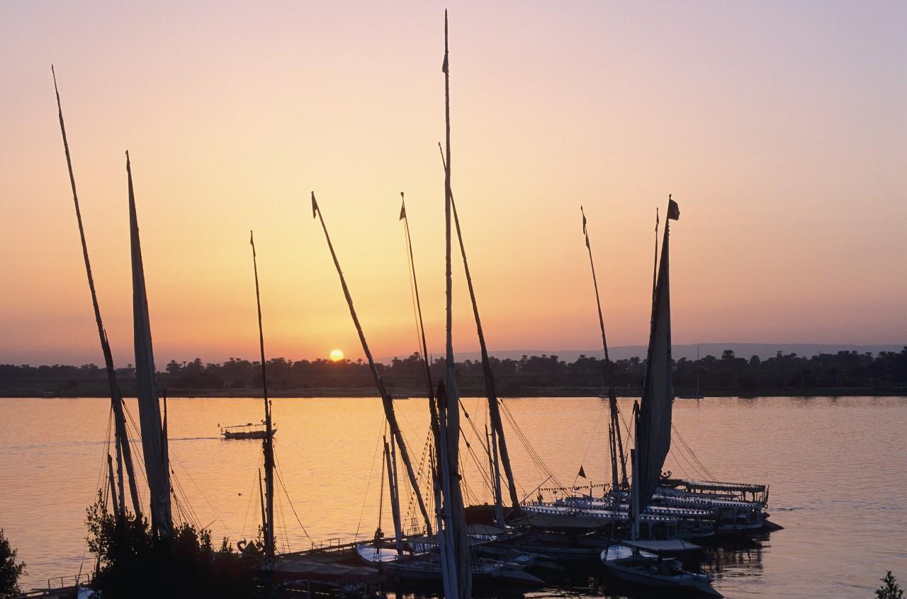 Bord du Nil du côté de la corniche. (© Author's Image))