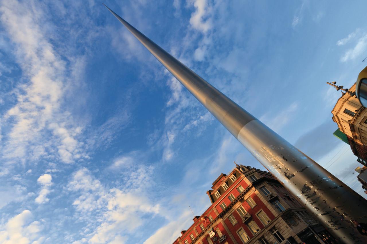 The Spire of Dublin est une gigantesque aiguille sur Henry Street (© Lawrence BANAHAN - Author's Image))