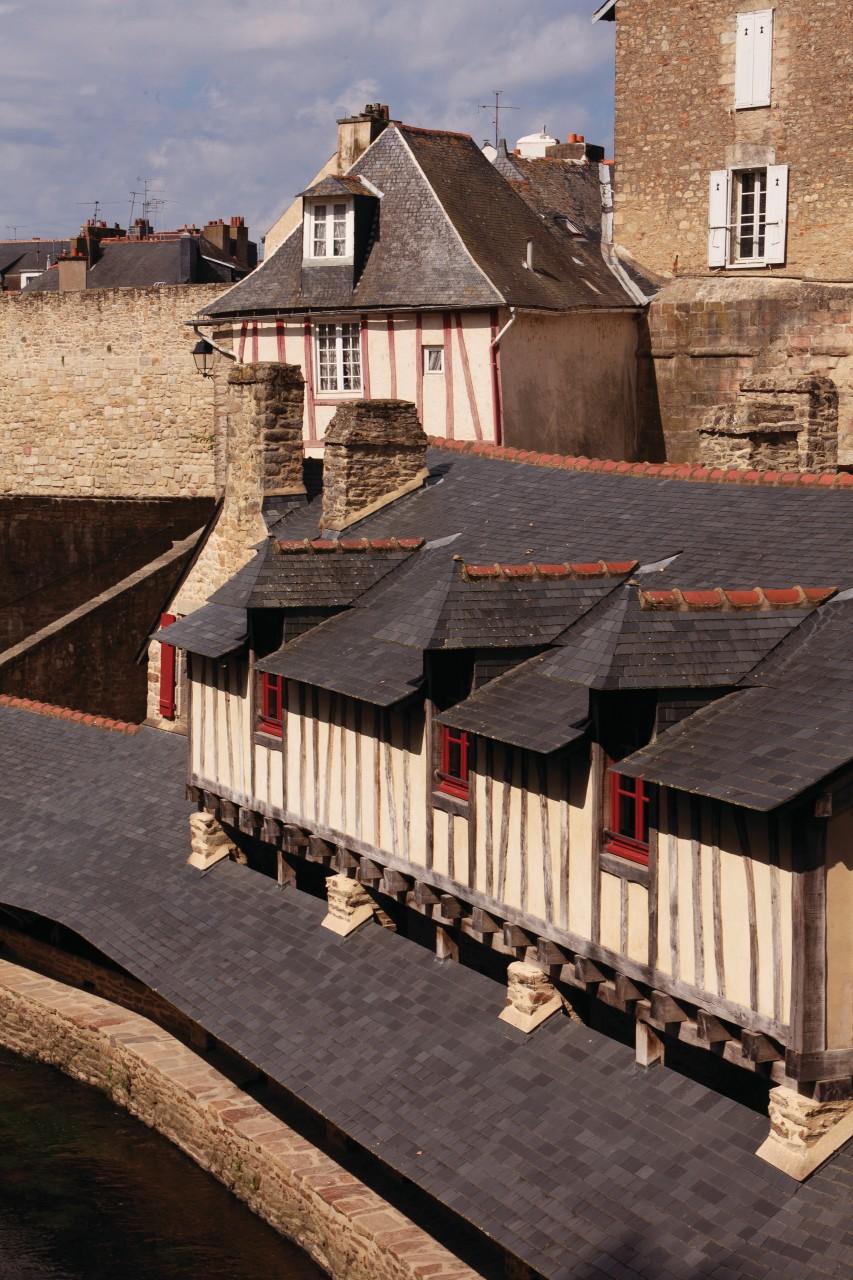 Ancien lavoir dans la vieille ville de Vannes. (© Irène Alastruey - Author's Image))