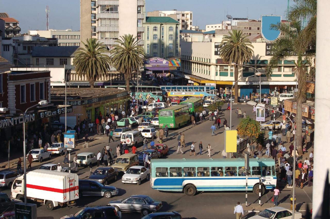 La ville animée de Nairobi. (© millerpd))