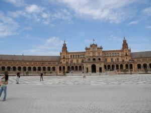 Place d'Espagne Séville Prise par le voyageur : Dragon Grincheux