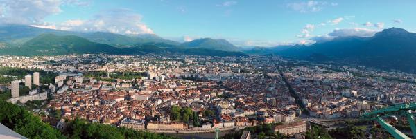 TÉLÉPHÉRIQUE DE GRENOBLE-BASTILLE Ouvrage d'art (viaduc, pont, tunnel, barrage...) Grenoble photo n° 201419 - ©TÉLÉPHÉRIQUE DE GRENOBLE-BASTILLE
