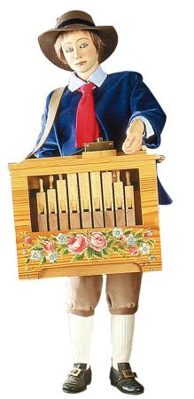 joueur d'orgue