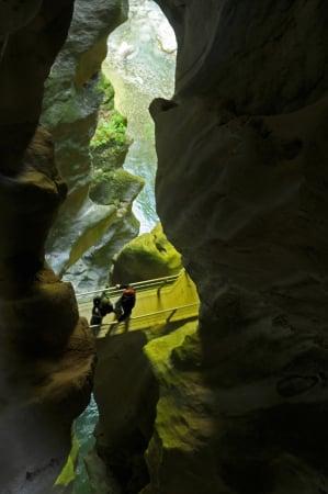 LES GORGES DU PONT DU DIABLE Site naturel (avec horaires et-ou payant) La Vernaz photo n° 210777 - ©LES GORGES DU PONT DU DIABLE