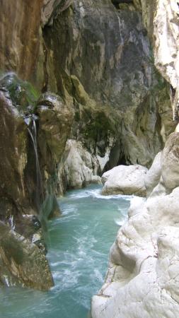 LES GORGES DU PONT DU DIABLE Site naturel (avec horaires et-ou payant) La Vernaz photo n° 210779 - ©LES GORGES DU PONT DU DIABLE