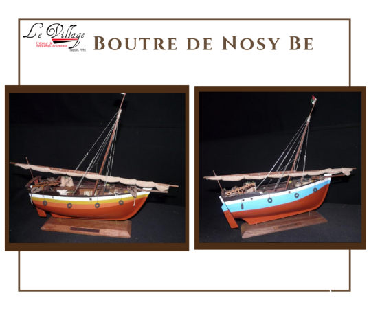 BOUTRE DE NOSY BE - ©LE VILLAGE