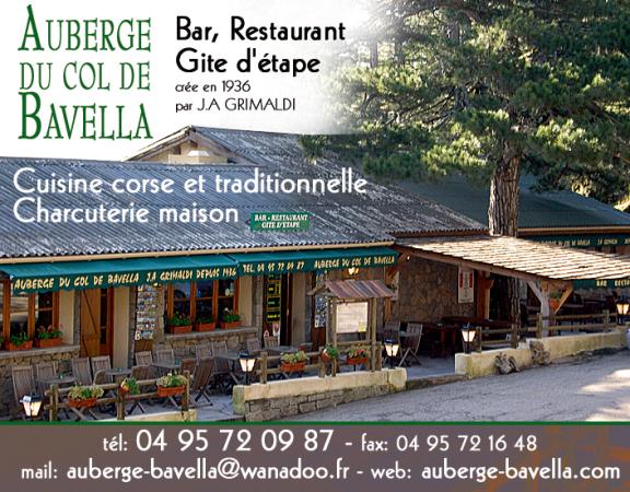 AUBERGE DU COL DE BAVELLA Restaurant corse Zonza photo n° 117836 - ©AUBERGE DU COL DE BAVELLA