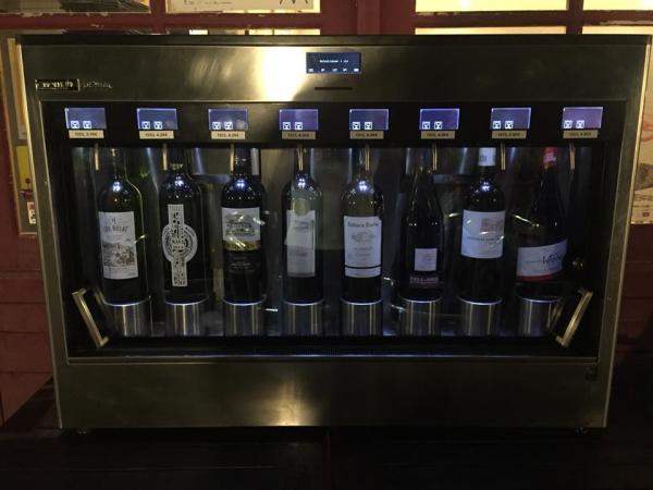 le vin au verre
