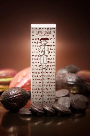 un bain au chocolat