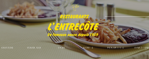 L'ENTRECÔTE