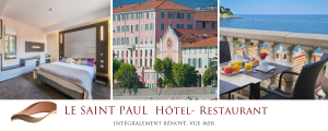 Le SAINT-PAUL, hôtel & restaurant