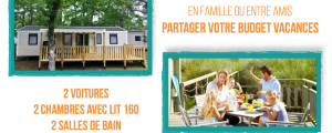 Mobile-home 8 personnes : -10%