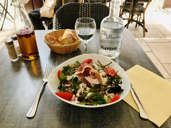 Salade Parme parmesa