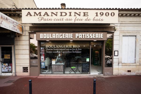 FAÇADE - ©BOULANGERIE AMANDINE 1900