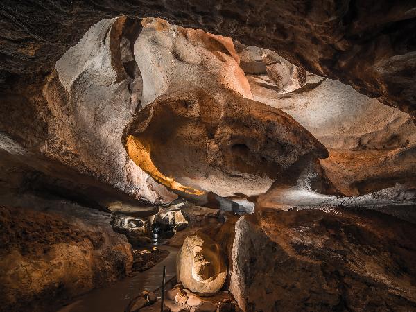 Grand méandre - Grottes de Sare - ©Sylvain Sangla