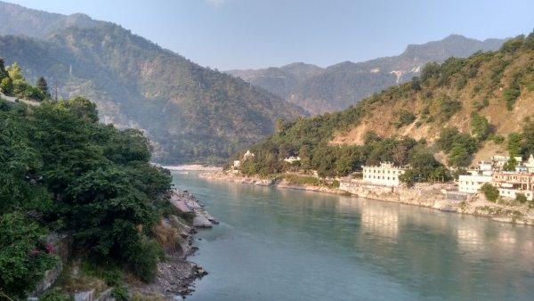Le Gange a Rishikesh