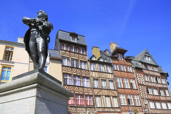 place Champ Jacquet - ©DESTINATION RENNES - OFFICE DE TOURISME