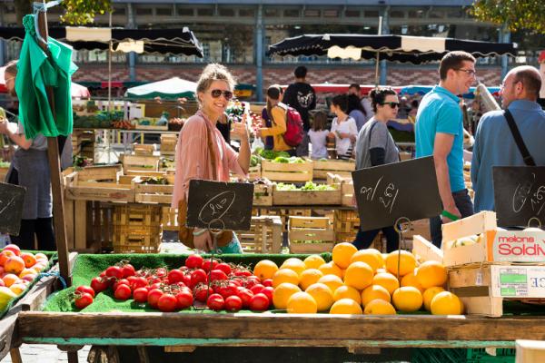 le marché des lices - ©DESTINATION RENNES - OFFICE DE TOURISME