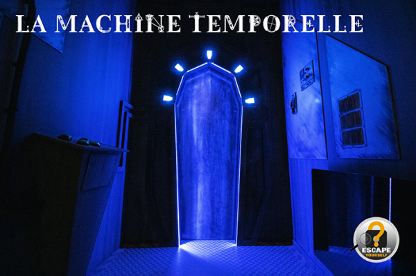 Machine temporelle - ©ESCAPE YOURSELF