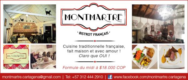 MONTMARTRE - BISTROT FRANÇAIS French cuisine Cartagena De Indias photo n° 212948 - ©MONTMARTRE - BISTROT FRANÇAIS