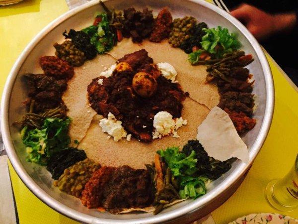 KARAMARA Restaurant éthiopien Tours - Cuisine ethiopienne