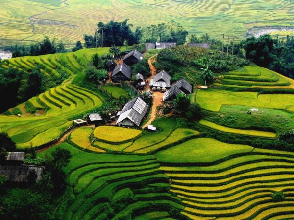 Village de Ta Van - ©MR LINH'S ADVENTURES TRAVEL