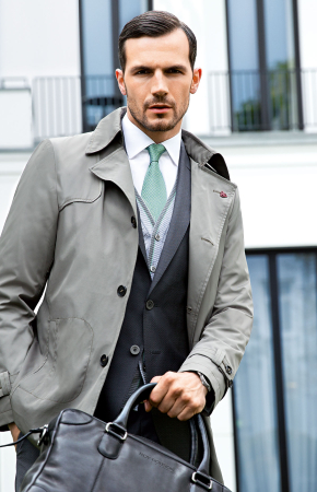 manteau léger - ©A VICTOR HUGO