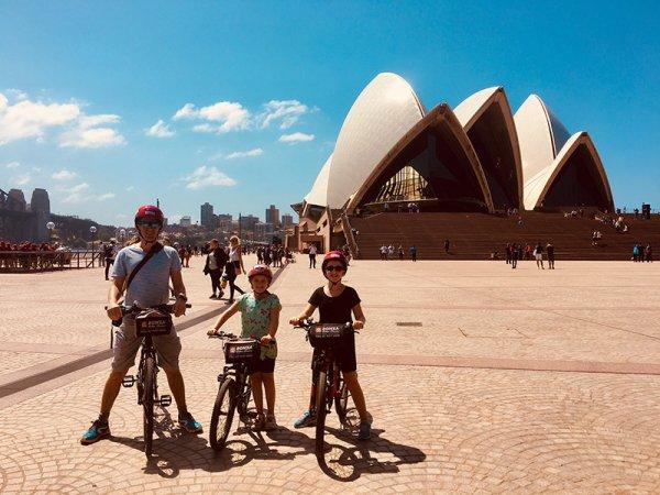 Sydney à vélo - ©ANTIPODES TRAVEL