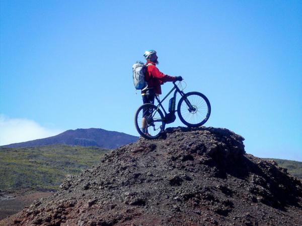 vélo au volcan