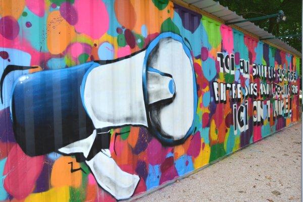 Espace Street art - ©CENTRE ABBÉ PIERRE - EMMAÜS