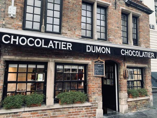 chocolat bruges - ©DUMON CHOCOLATIER