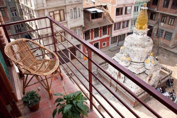 Vue sur le stupa - ©COSY NEPAL
