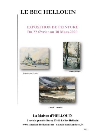 exposition - ©LA MAISON D'HELLOUIN