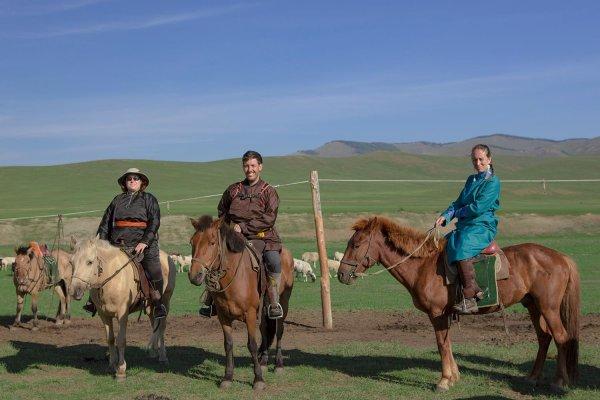Voyage de yourte en - ©ECOVOYAGE MONGOLIE