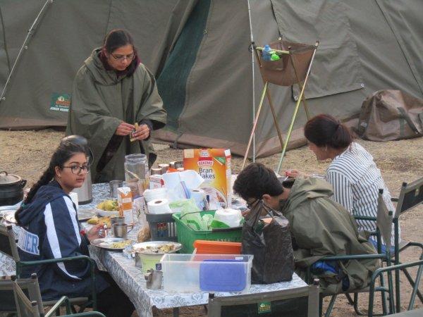 Camping at Moremi - ©MOONLIGHT SAFARIS