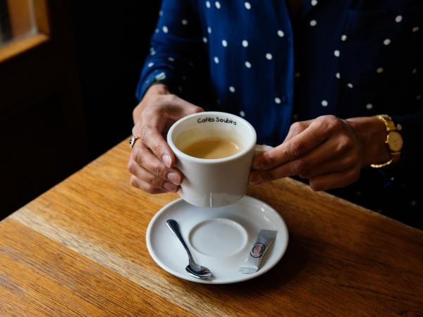 Pause café - ©Sarah Arnould