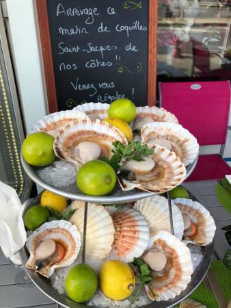 Comptoirs De L Ocean Restaurant De Fruits De Mer Et Poissons Le