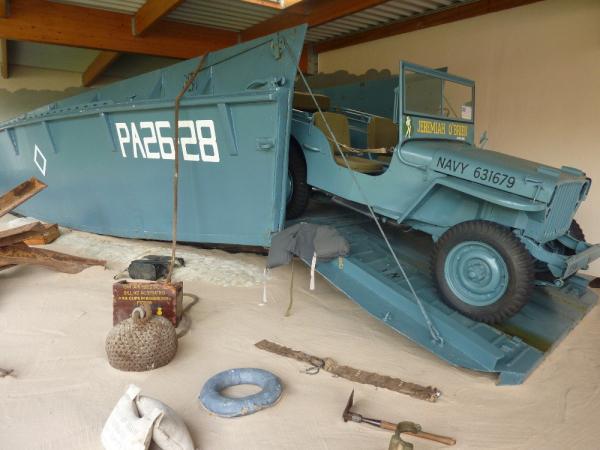 LCVP et Jeep