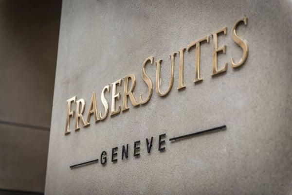 Street Entrance - ©FRASER SUITES GENEVA