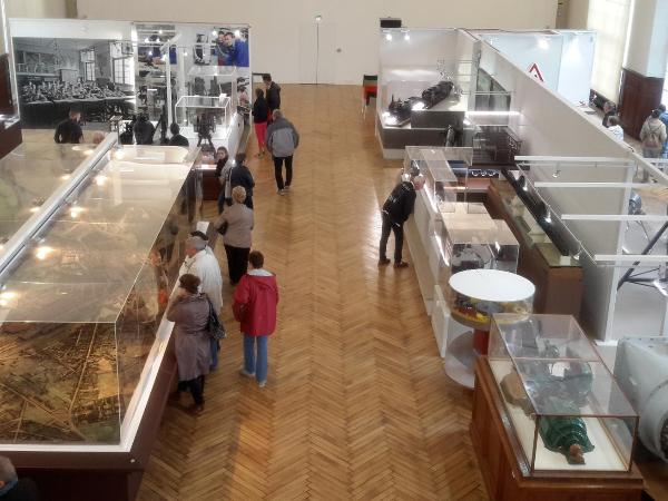 Visite du Pavillon de l'industrie - ©Creusot Montceau Tourisme