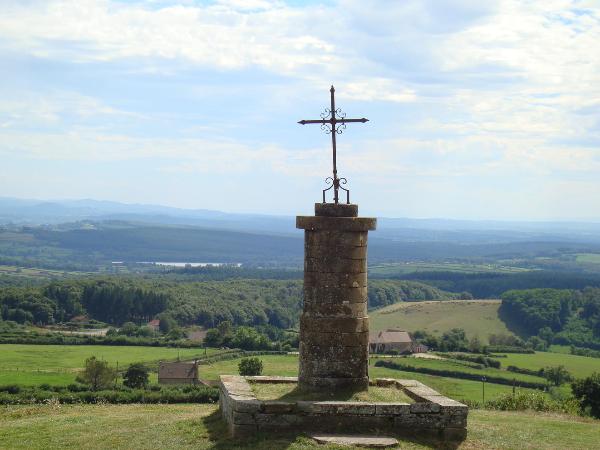 Panorama au Mont-Saint-Vincent - ©ADT71/V.Givord