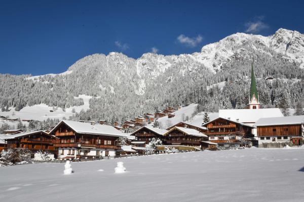 Alpbach en hiver - ©OFFICE DE TOURISME D'ALPBACHTAL SEENLAND - KRAMSACH