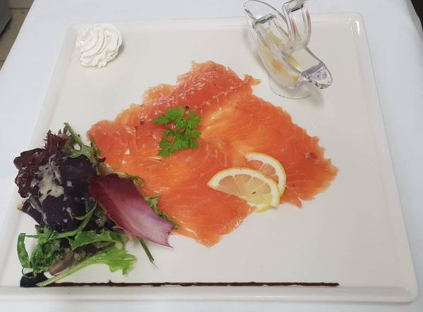 saumon fumé - ©LES TERRASSES DU ROZAY