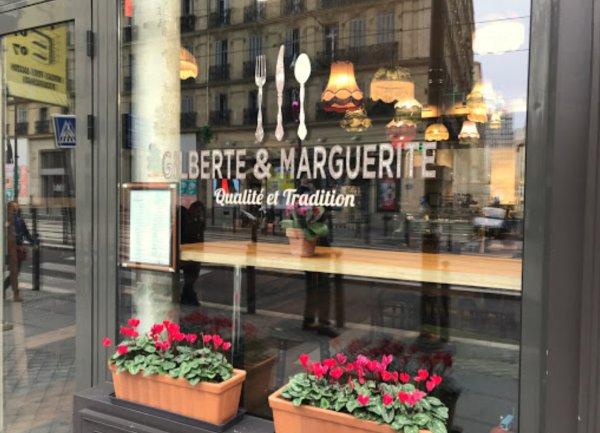 Devanture - ©GILBERTE & MARGUERITE