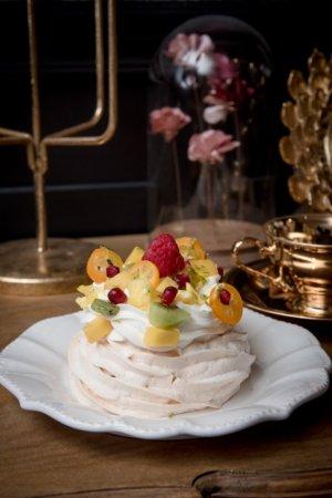 Pavlova aux fruits