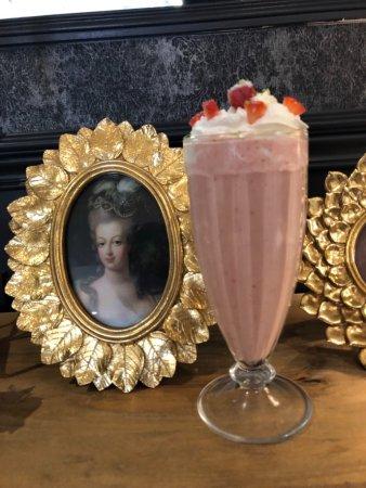 Milkshake fraises - ©OCTAVIE'S