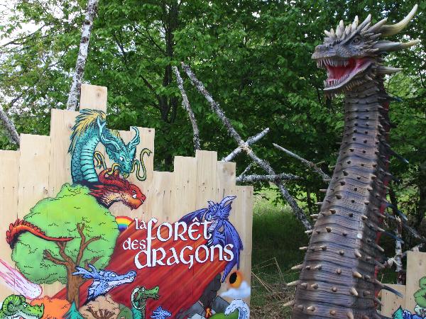 La Forêt des dragons - ©Vulcania