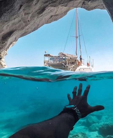 Escape at Sikia cave - ©MILOS ADVENTURES