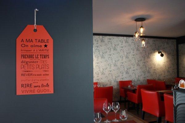 Le restaurant - ©BISTROT DE COURTOISVILLE